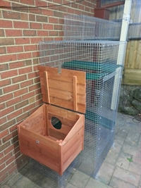 Litter box Enclosure